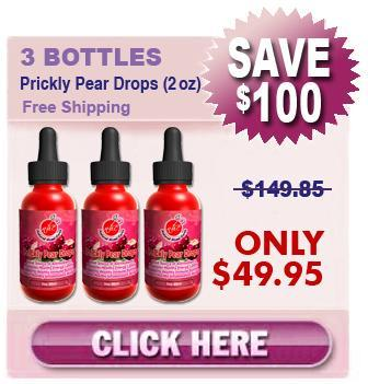 Order 3 Bottles Prickly Pear Drops 3 x (2 oz)